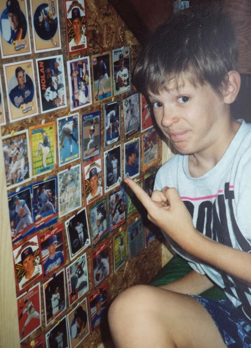 Did I say Nolan Ryan? Oh, he was just my hero and all. You can't tell by the shrine of his baseball cards I've made or anything...