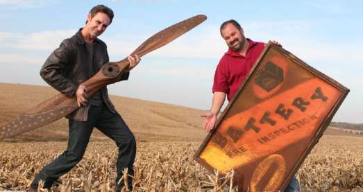 Mike and Frank of American Pickers